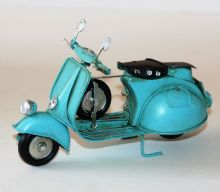 Tin Model - Blue SCOOTER